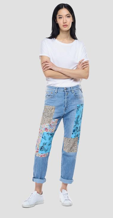 Low waist slouchy fit ROSE LABEL Leony jeans - Replay WA454T_000_509-949_010_1