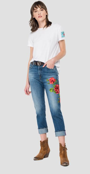 ROSE LABEL low waist slouchy fit Leony jeans - Replay WA454V_000_425-89V_009_1