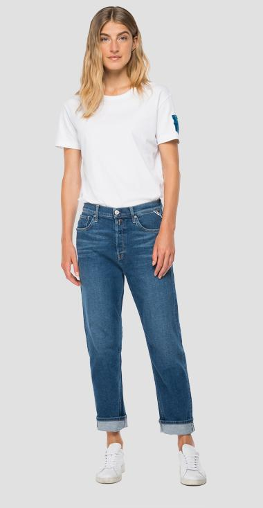 Jeans low waist slouchy fit Leony ROSE LABEL - Replay WA454_000_83C-85V_009_1