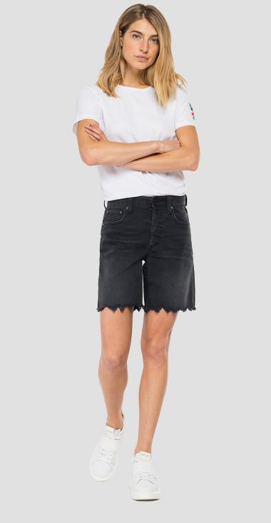 Five pockets denim shorts - Replay WA456_000_203-86R_097_1