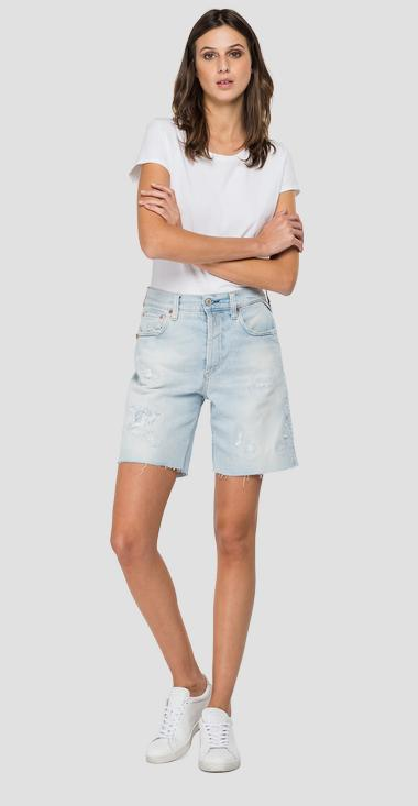 ROSE LABEL denim shorts - Replay WA456_000_207-85R_010_1