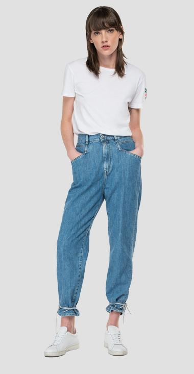 High waist tapered fit Talya jeans - Replay WA466_000_529-955_010_1