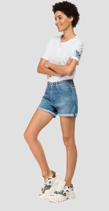 Shorts vaqueros con estampado - Replay WA611N_000_108-600_011_1