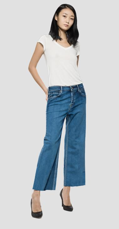Basinkim cropped jeans - Replay WA628_000_21A-05_009_1