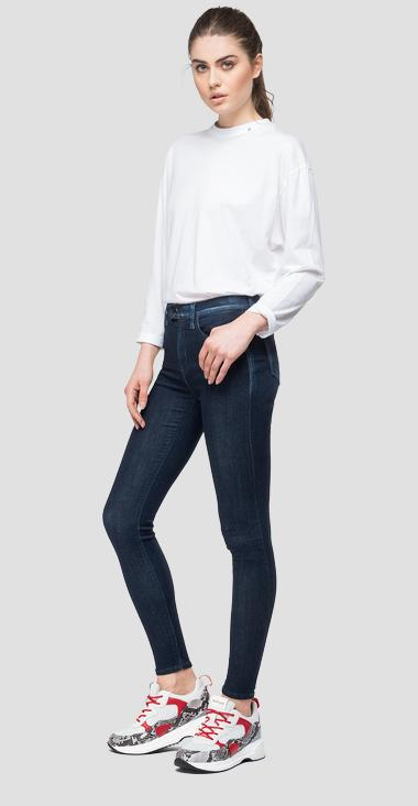 Super skinny high waist fit Touch jeans - Replay WA642_000_247-T40_007_1