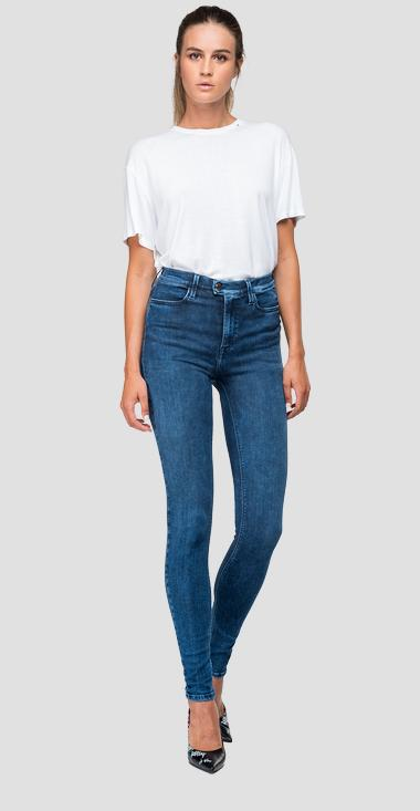 Jean coupe super skinny taille haute Touch - Replay WA642_000_247-T42_009_1