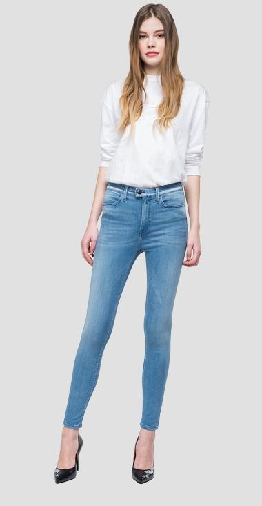 Jean coupe super skinny taille haute Touch - Replay WA642_000_247-T44_010_1