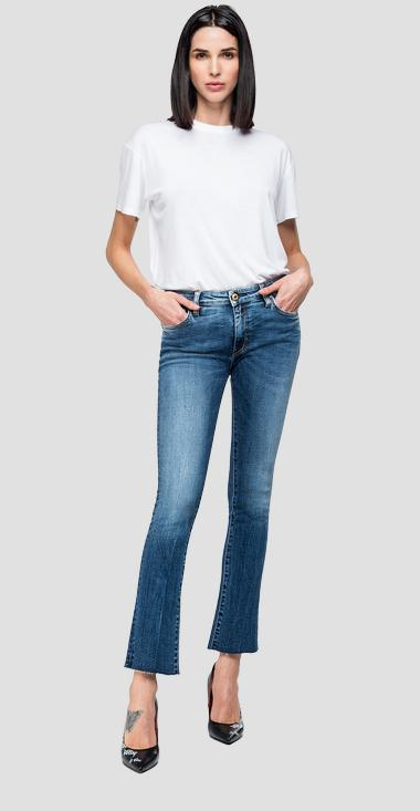 Jean cropped coupe boot Dominiqli - Replay WA646F_000_205-583_009_1