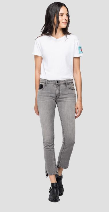 cropped fit Dominiqli jeans - Replay WA646G_000_173-657_096_1