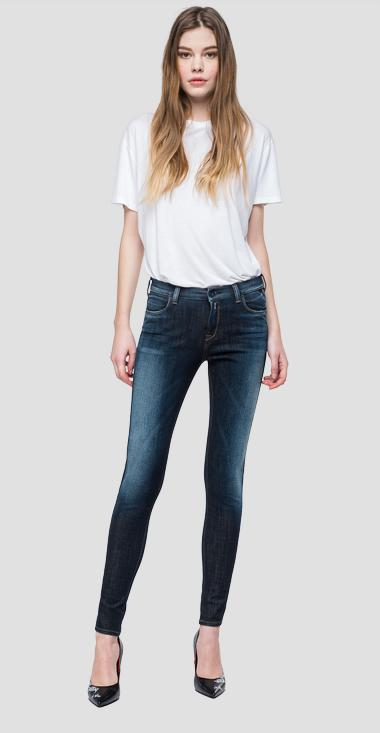 Super skinny high waist fit Hyperflex+ Stella jeans - Replay WA684A_000_661-S20_007_1