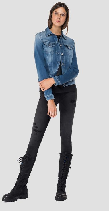 Hyperflex denim jacket - Replay WA7651_000_661-404_009_1