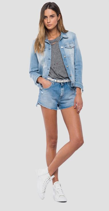 Hyperflex light denim jacket - Replay WA7651_000_661-409_010_1
