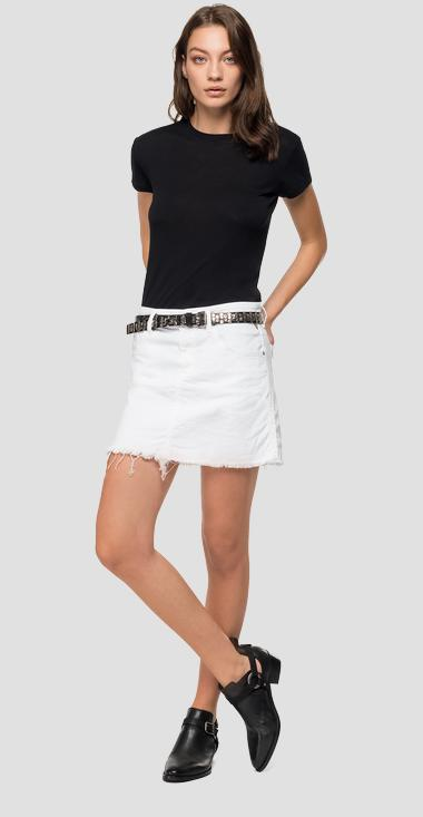 Replay denim miniskirt - Replay WA9201_000_8005232_002_1