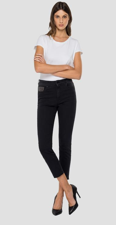Slim fit cigarette crop Faaby jeans - Replay WB429B_026_103-809_097_1