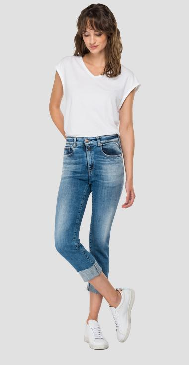ROSE LABEL slim fit cigarette crop Faaby jeans - Replay WB429_026_327-838_009_1