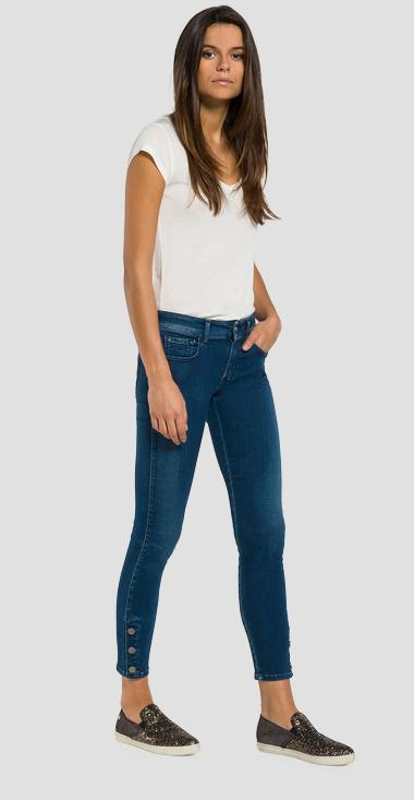 Luz cropped skinny-fit jeans - Replay WBX689_000_93A-921_009_1