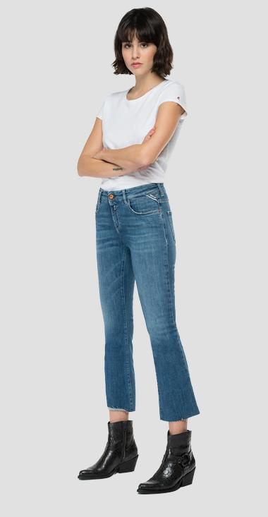 Flare crop bootcut fit Faaby jeans - Replay WC429_026_69D-927_009_1