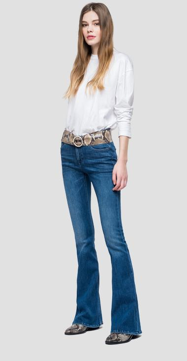 Flare fit Stella jeans - Replay WCA684_000_69D-579_009_1