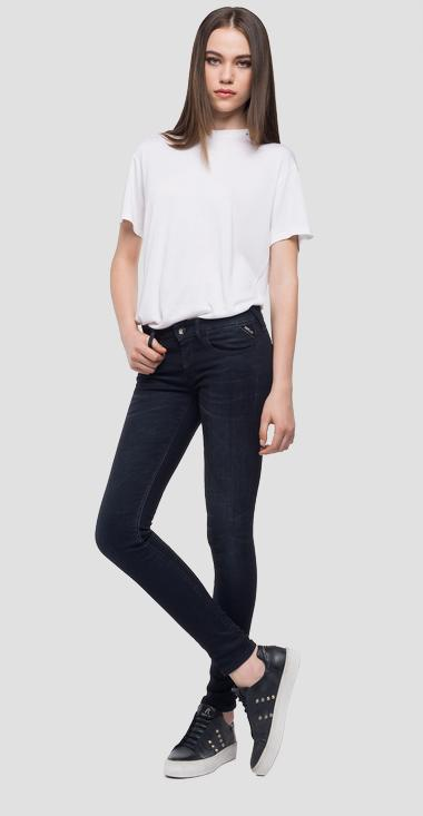 Skinny fit Luz jeans with zipper - Replay WCX689_000_135-385_098_1