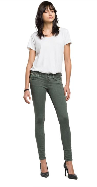 Luz Coin Zip skinny-fit jeans - Replay WCX689_000_8069335_020_1
