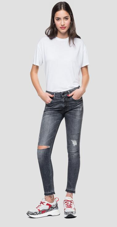 Skinny High Waist Fit Jeans Luz - Replay WH689H_000_199-551_097_1