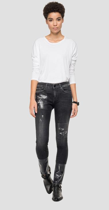 Skinny high waist Fit Jeans Maestro New Luz - Replay WH689H_000_249-M56_097_1
