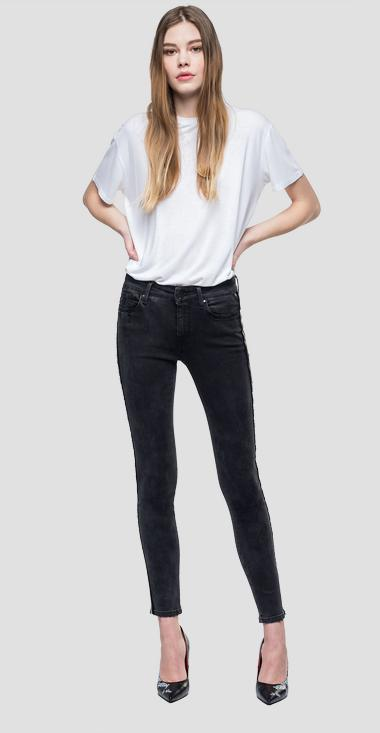 Jean coupe skinny taille haute New Luz - Replay WH689N_000_85B531B_098_1