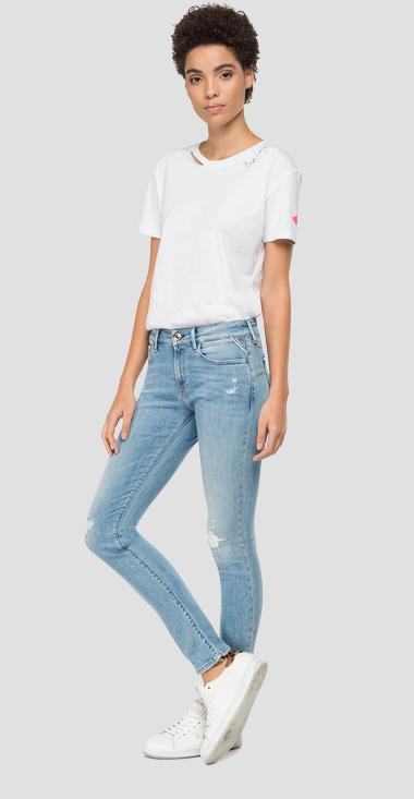Skinny high waist fit New Luz jeans - Replay WH689R_000_69D629R_010_1