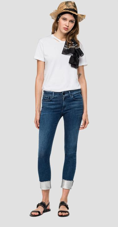 Skinny high waist fit New Luz jeans - Replay WH689V_000_69D611L_007_1