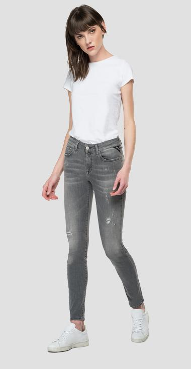 Skinny fit Broken Edge New Luz jeans - Replay WH689_000_249-909_096_1