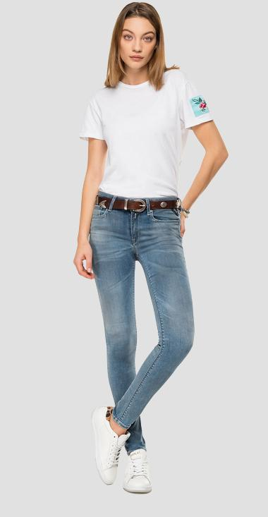 Skinny hgih waist fit Hyperflex Bio New Luz jeans - Replay WH689_000_661-A05_009_1