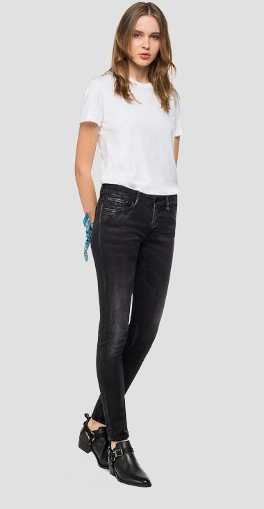 Skinny high waist fit Hyperflex Bio New Luz jeans - Replay WH689_000_661-A10_098_1