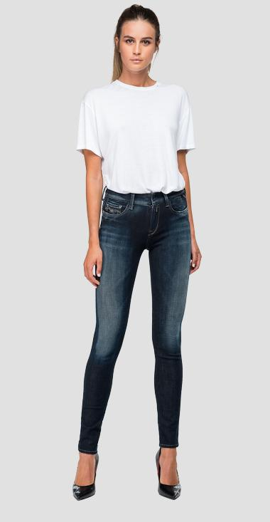 Skinny high waist fit Hyperflex+ New Luz jeans - Replay WH689_000_661-S20_007_1