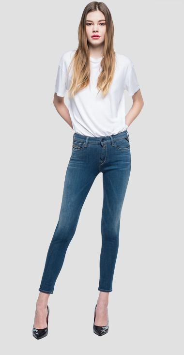 Skinny high waist fit Hyperflex+ New Luz jeans - Replay WH689_000_661-S23_009_1