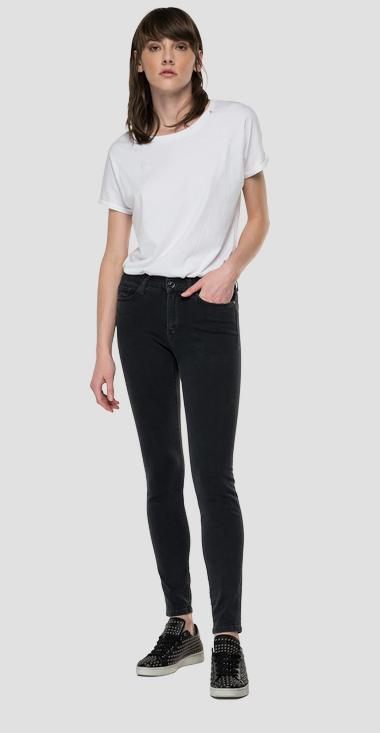Skinny high waist fit Luzien jeans - Replay WHW689_000_103E915_097_1