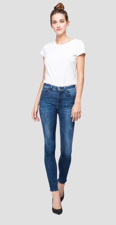 Skinny high waist fit Luzien jeans - Replay WHW689_000_227-71A_007_1