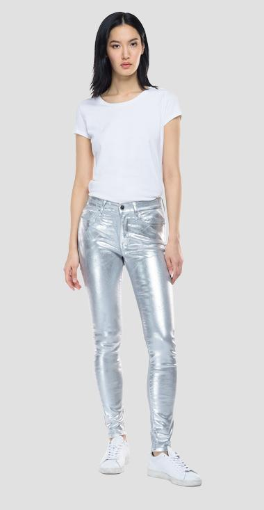 Skinny high waist fit Luzien jeans - Replay WHW689_000_8405198_010_1