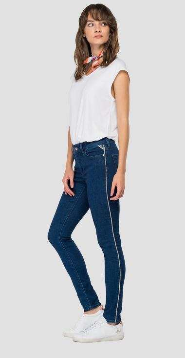 High waist skinny fit Luzien jeans - Replay WHW689_000_93AP821_007_1