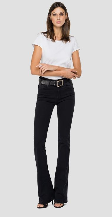 Flare high waist bootcut fit New Luz jeans - Replay WLW689_000_103E809_097_1