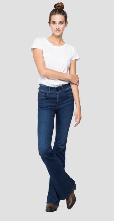 Jeans flare fit New Luz - Replay WLW689_000_93A-730_007_1