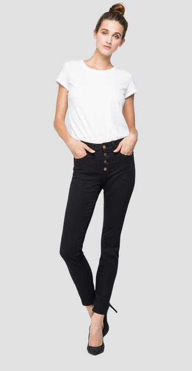 Skinny high waist fit Luzien jeans - Replay WMW689_000_103-E09_098_1