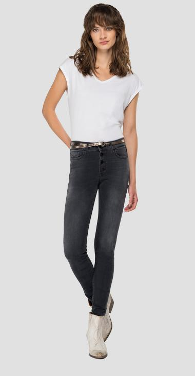 High waist skinny fit Luzien jeans - Replay WMW689_000_103E839_097_1
