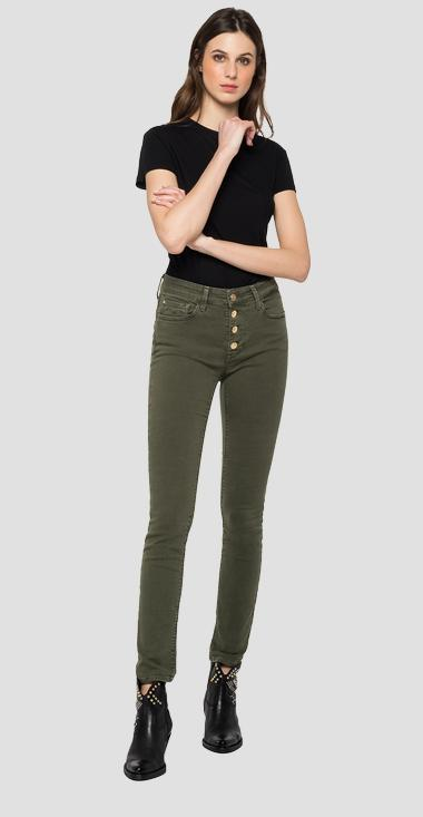 Skinny high waist fit Luzien jeans - Replay WMW689_000_8069343_833_1