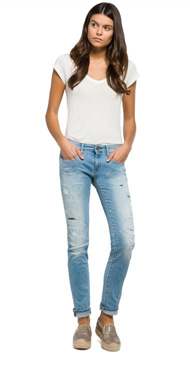 Skinny Fit Jeans Rose - Replay WX613_000_93A965R_010_1