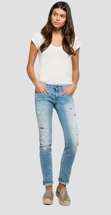 Rose skinny-fit jeans - Replay WX613_000_93A965R_010_1