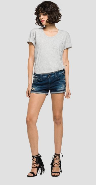 Five-pocket denim shorts - Replay WX663_000_21A-931_009_1