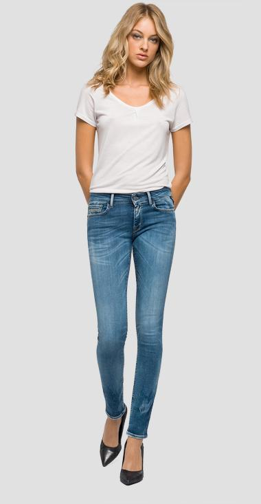 Jeans skinny fit Hyperflex LUZ - Replay WX689_000_661-033_009_1