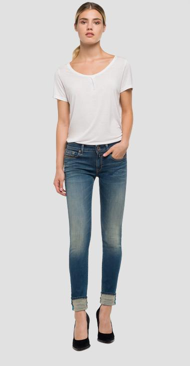Jean coupe skinny Hyperflex Luz - Replay WX689_000_661-523_009_1