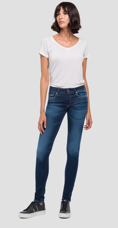 Jeans coupe skinny Hyperflex Laserblast Luz - Replay WX689_000_661-L01_007_1
