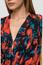 Viscose shirt with floral print